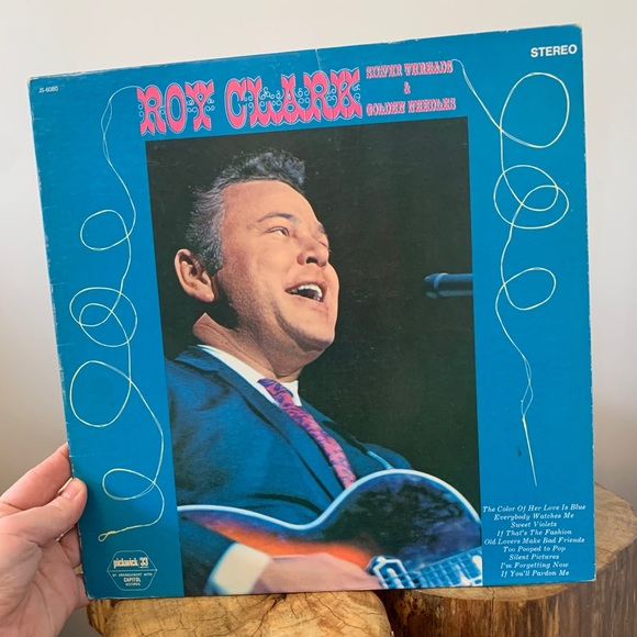 VINTAGE / Record / Roy Clark / Country